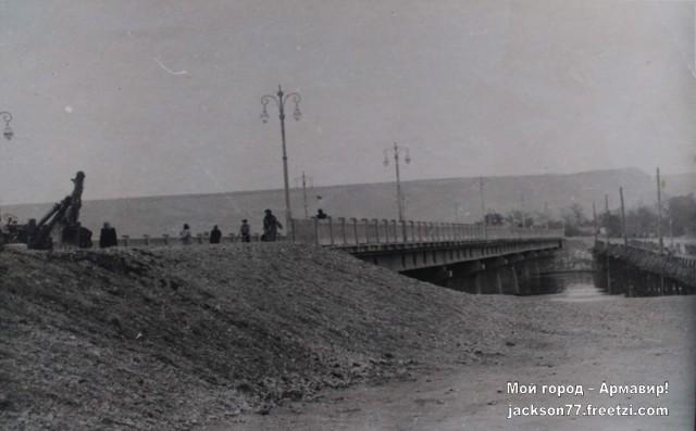 Мост через р. Кубань в Старую Станицу